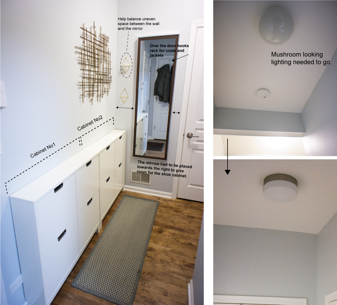 Interior design shoes cabinet perfect home design for Narrow foyer cabinet