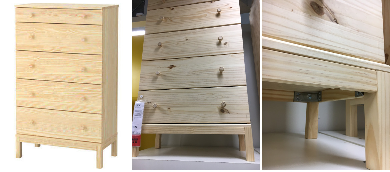 Ikea Tarva Drawers
