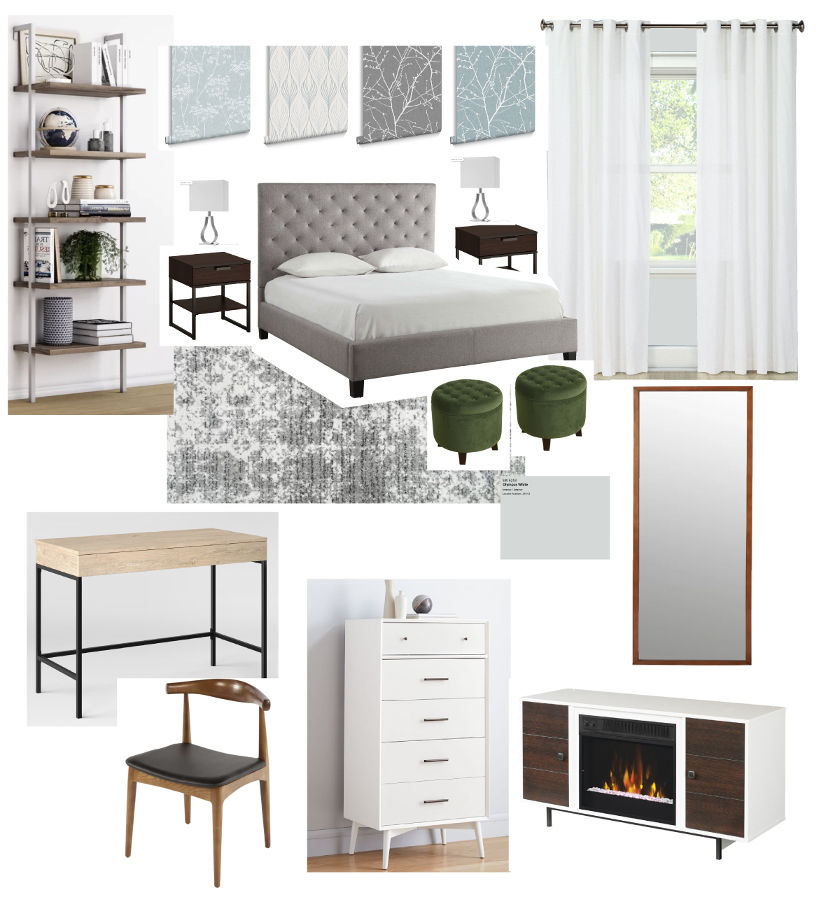 Master Bedroom Moodboard Version 2
