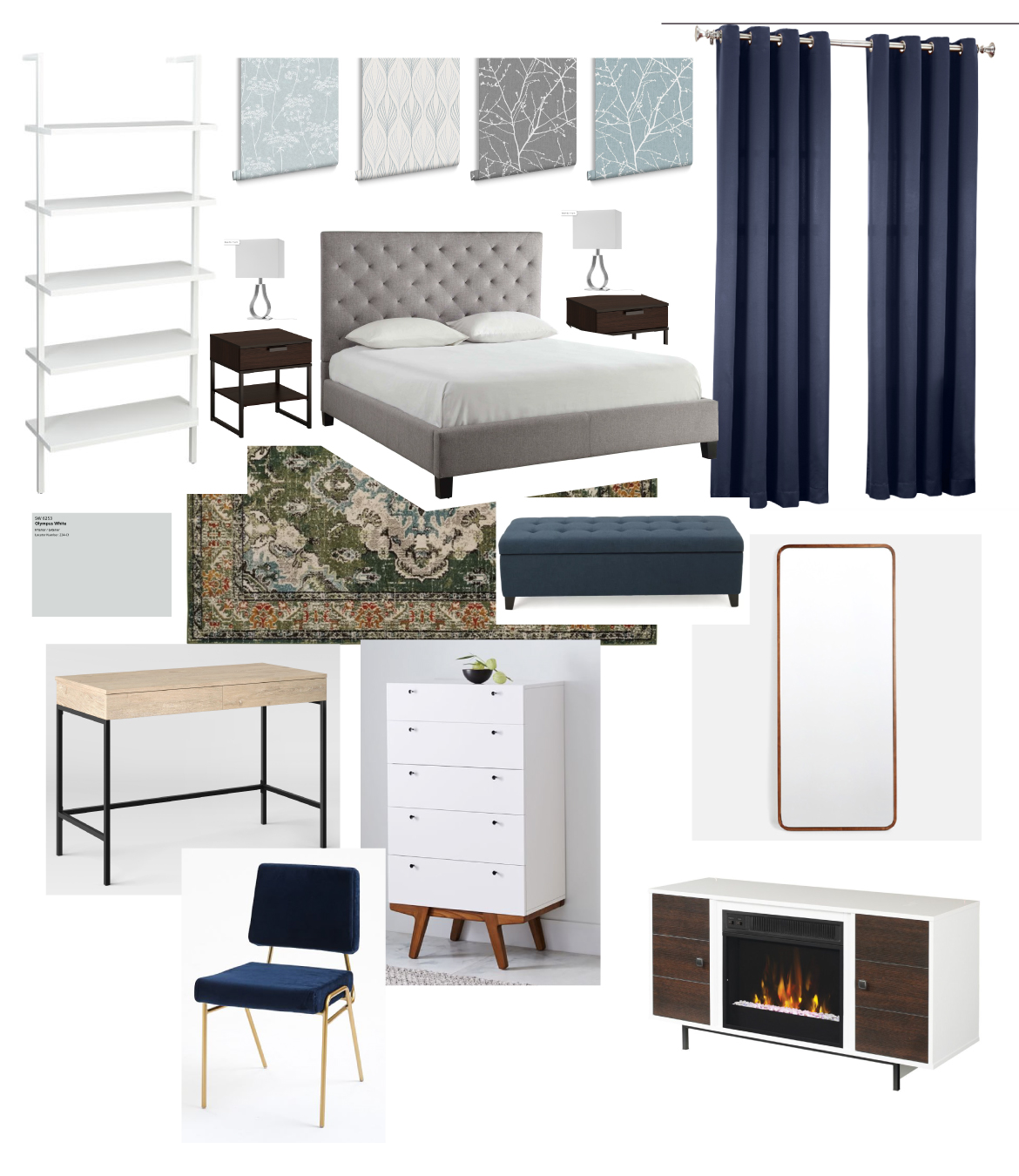 Master Bedroom Moodboard Version 1