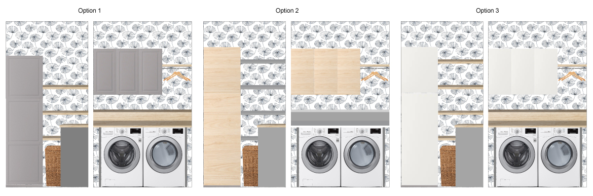 Laundry room designs option